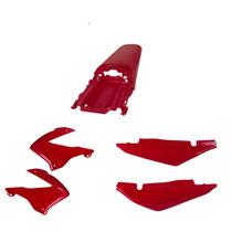 Carenagem Bros150 Vermelho 2003/04 E 2005//07/08 Kit