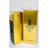 Perfume One Million Edt. 200ml - 100% Original + Amostra