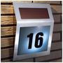 Número Residencial - Iluminado Por Led *** Energia Solar ***