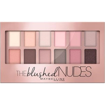 Estojo Paleta 12 Sombras Maybelline Blushed Nudes Importado