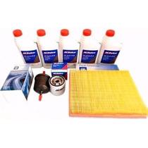 Kit Troca 5 Oleo 5w30 Ac Delco 100% Sintetico + Filtros Gm $