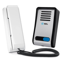 Porteiro Eletrônico Hdl F8-s Com Interfone Az-s01 Alumínio