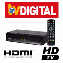 Conversor Tv Digital ( H D T V ) - Função Gravador - H D M I