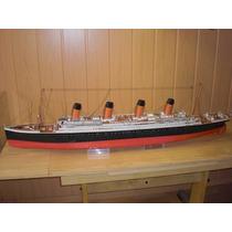 Projeto Majestoso Papercraft Navio Titanic 3d 1:200