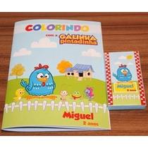 Livrinho Para Colorir Personalizado Tam. P - 1 Und. R$1,00