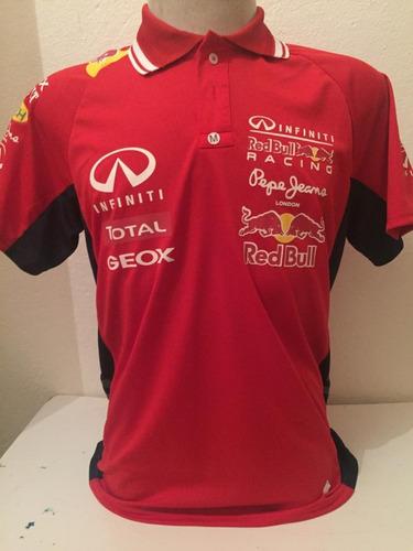 Camisa Camiseta Polo Formula 1 F1 Red Bull Corrida Vermelha 951e717fdbaeb