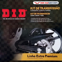 Kit Transmissao Relacao Did Yamaha Mt-03 Tenere 660 Corrente