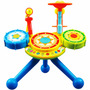 Bateria Infantil Inteligente Zoop Toys Musicas Luzes Criança