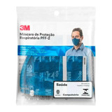 Máscara Respirador 3m Pff2 N95 9820 Pff-2(s) Epi Inmetro
