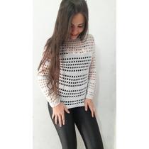 Roupa Feminina Blusa Trico Roupa De Frio