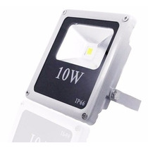 Refletor Led 10w Branco Frio Holofote Prova D