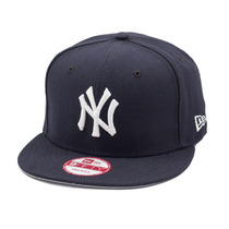 Boné Aba Reta Original New Era Ny New York Aberto Azul