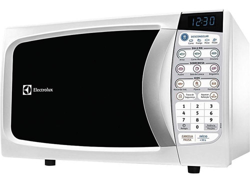 Microondas Electrolux Mtd30 Branco 20l 110v