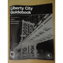 Manual Original Do Gta Liberty City Ps3 Playstation