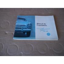 Manual Do Proprietário Do Karman-guia 67 Novo (perfeito)