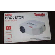 Mini Projetor Led Av Sd Usb Tomate Mpr 9009