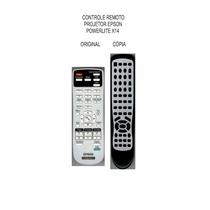 Controle Projetor Epson S3 S4 S5 S10 Powerlite X14 Ex31 W7