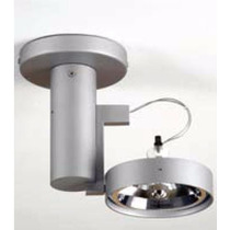 Kit 10 Luminária Plafons Pendente Lâmpada Ar111 1 Luz Direci
