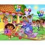 Painel Banner Dora Aventureira Festa Infantil