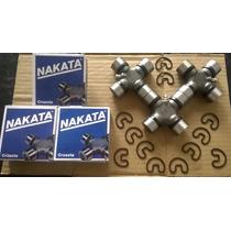 Cruzetas Cardan Traseiro Frontier / Nakata 02 Á 07 Kit C/ 3