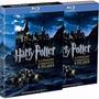Box Blu-ray Harry Potter Coleção Completa-8 Filmes Lacrado,