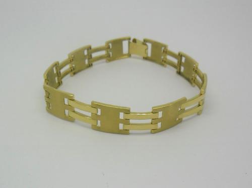 ec7805f07b2 Pulseira Masculina 25 Gramas Ouro Amarelo 18k 750