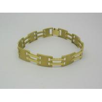 Pulseira Masculina 25 Gramas Ouro Amarelo 18k 750