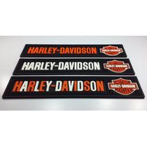 Kit Bar Mat Com 3 Tapetes Harley-davidson