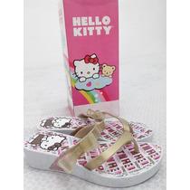 Sandália Infantil Feminina Hello Kitty