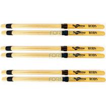 Baqueta Spanking Rods Kit Com 3 Pares