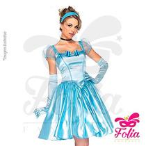 Fantasia Princesa Cinderela Luxo - Promoção