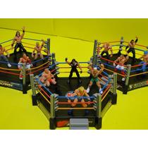 12 Boneco + 03 Arena Ufc Mma Luta Boxe Octogno Ringue Ninja