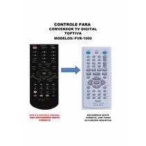 Controle Remoto Conversor Digital Toptiva Pvr-1000