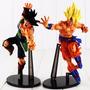 Kit 2 Figure Action Bonecos Goku + Bardock Dragon Ball Z
