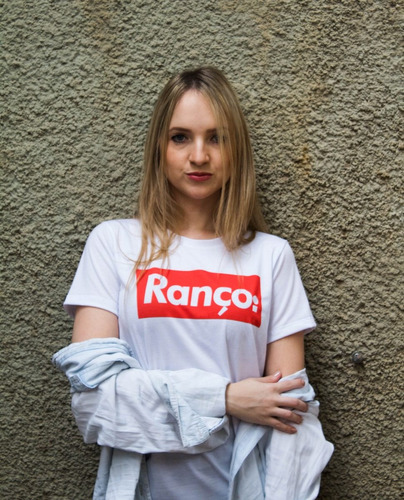 Camiseta Feminina T Shirt Frase Procurando Sua Opiniao Ranço 683a43a09b635