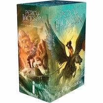 Box Coleção Percy Jackson E Os Olimpianos (5 Livros ) - Novo