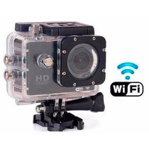 Camera Sports Hd Dv 1080p H.264 Full Hd Wifi 30m Agua