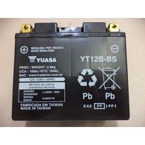 Bateria Yuasa Yt12b-bs Yamaha Tdm 850 /900 / Yzf-r1 / Ducati