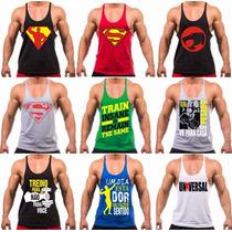 91193ae3d6 Camiseta Regata Cavada Masculina Academia Musculação Fitness à venda ...