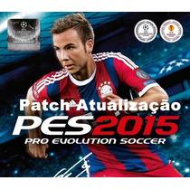 Patch Atualização Pes 2015 - 3 Ligas Novas!