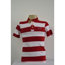 Camiseta Polo Masculina Hollister