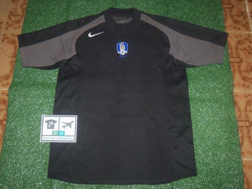 bfcee3cad4af2 Camisa Seleção Coreia Do Sul 2004-2005 Nike Home Gk Goleiro