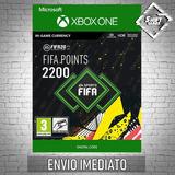 2200 Fifa 20 Points Xbox One Código 25 Dígitos
