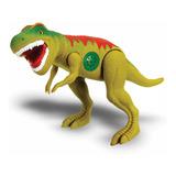 Brinquedo Dinossauro Tirano Rex Com Som De Verdade Vinil