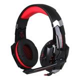 Fone De Ouvido Gamer Kotion Each G9000 Black E Red
