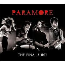 Cd Paramore - The Final Riot (cd+dvd) - Lacrado