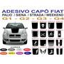 Adesivo Capo Fiat Strada Palio Siena Weekend Sport Original