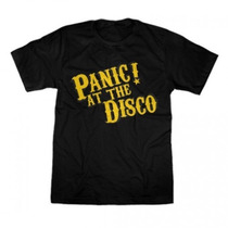 Camisa Banda Panic At The Disco