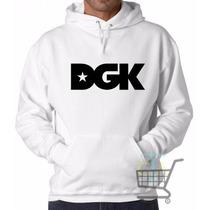 Blusa Moletom Dgk Skate Canguru - Super Promoção