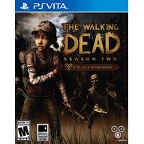 Novo Lacrado Game Jogo The Walking Dead Season 2 Ps Vita